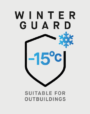 Winter Guard - Suitable for Outbuildings as low as -15 degrees celsius